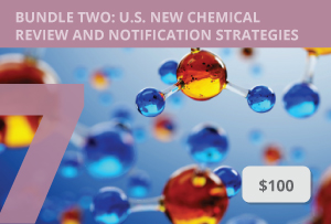 What Type of U.S. New Chemical Submission is Right for You? (TSCA07)