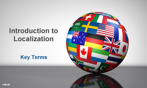 Key Terms of Localization