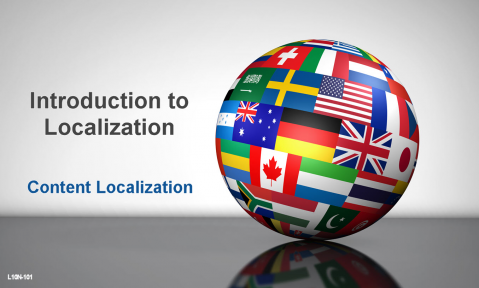Introduction to Localization - Content Localization