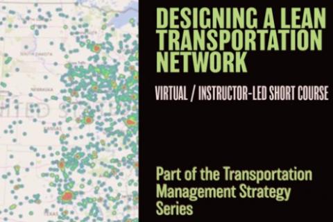 Designing a Lean Transportation Network