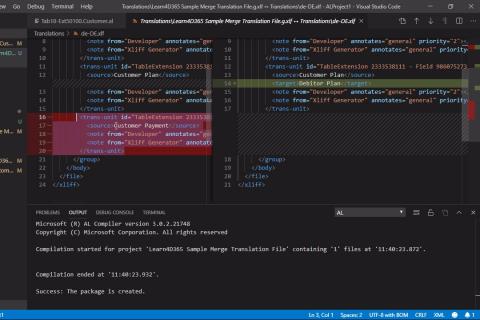 Compare Funktionen in VS Code - Wie geht das? (bc008989)