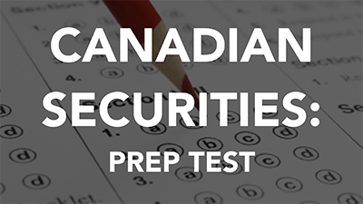 Canadian Securities Exam Prep