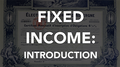 Fixed Income Investments (LCI0108)