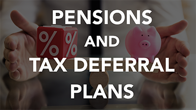 Pensions and Tax Deferral Plans (LCI0107)