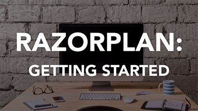 RazorPlan: Getting Started (LCI0258)