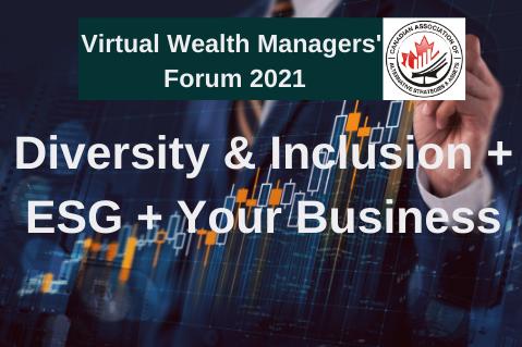 Diversity & Inclusion + ESG + Your Business (CAASA006)