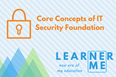 LM108 Core Concepts of IT Security Foundations (LM108)