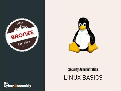 Linux Basics (AA0103)