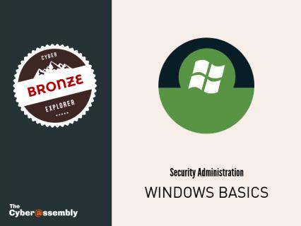 Windows Basics (AA0104)