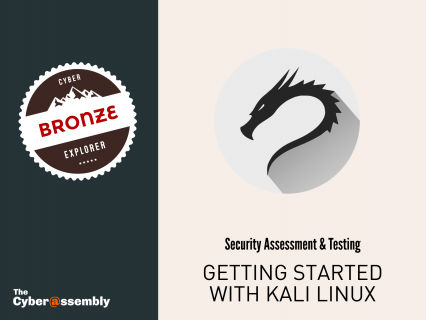 Getting Started with Kali Linux (AA0110)