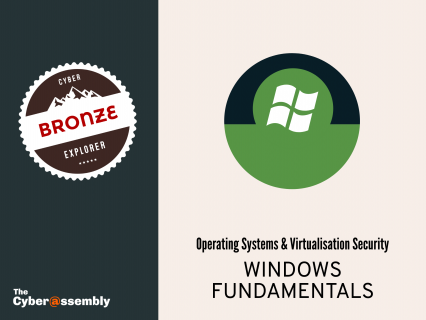 Windows Fundamentals (AA0104)
