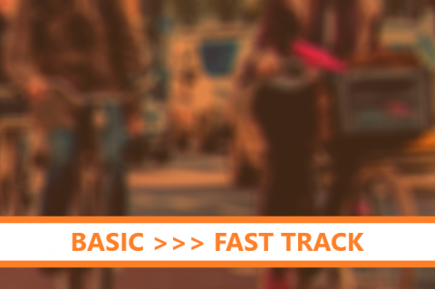 Creating successful bicycle infrastructure - BASIC COURSE >>> FAST TRACK