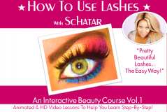 How To Use Lashes With Schatar: Pretty, Beautiful Lashes...The Easy Way! (Members Only)