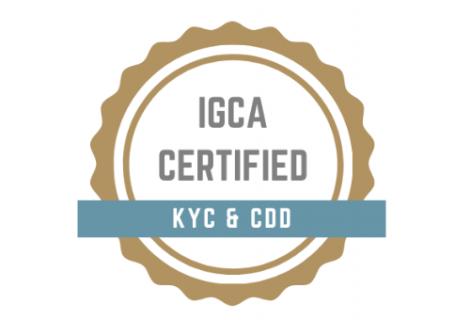 Certificate in KYC and CDD (CERTKYCCDD)