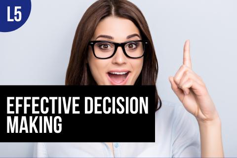 BTBUS503: Effective Decision Making (BTBUS503)