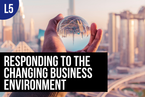 BTBUS504: Responding to the Changing Business Environment (BTBUS504)