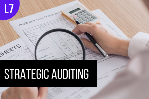 ACC703: Strategic Auditing (ACC703)