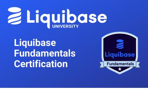 Liquibase Fundamentals Certification (LB101)