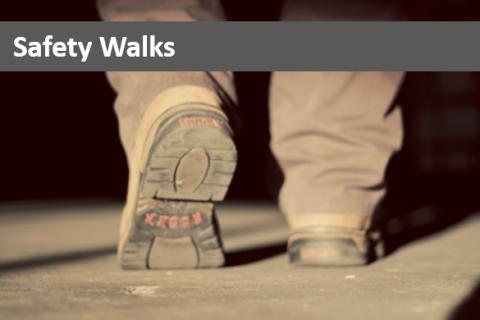 Safety Walks (CSi.SAFETY.ELEARNING)