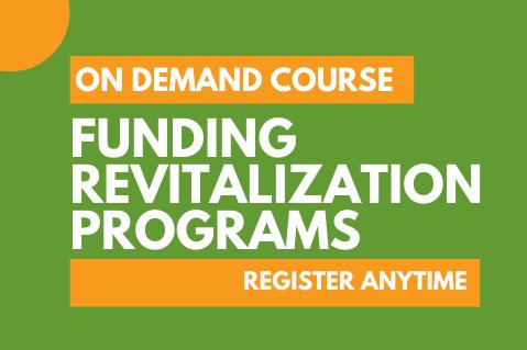 Funding Revitalization Programs