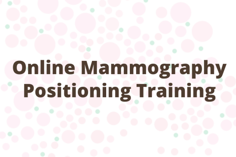 Online Mammography Positioning Training
