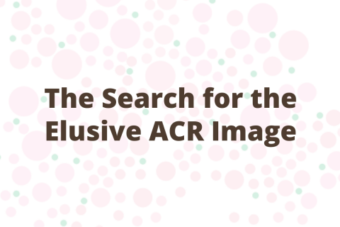 The Search for the Elusive ACR Image