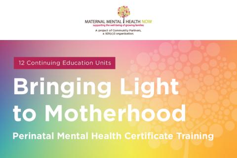 Bringing Light to Motherhood