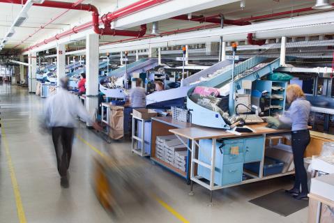 Die Arbeit in einem Logistikunternehmen (1)