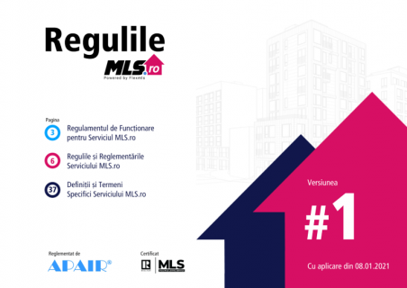 Funcționarea și Regulile MLS.ro (MLS-R1)