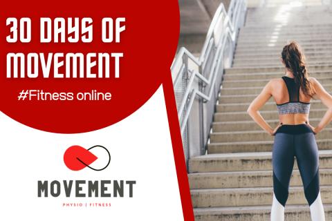 30 Days of Movement (Level: beginner) (30days)