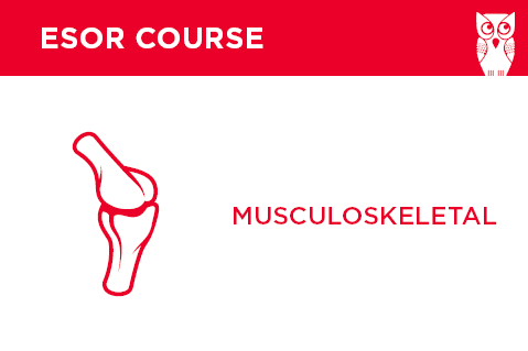 ESOR for EDiR Webinars: Musculoskeletal Radiology (part1) - 2014 (104A)