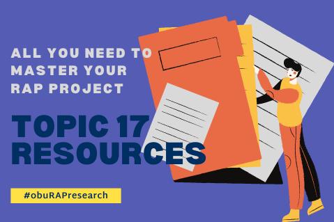OBU RAP Topic 17 Resources (myT02)
