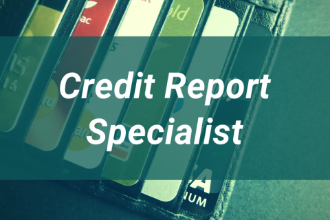 Credit Report Specialist Continuing Education Unit