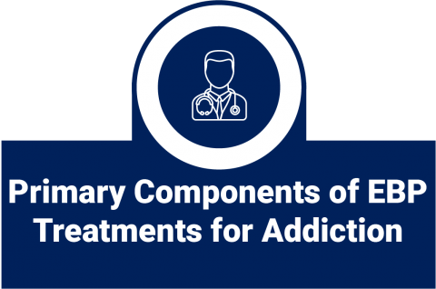Primary Components of Evidence-Based Treatments for Addictions