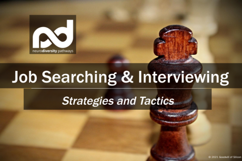 Job Searching & Interviewing - Strategies and Tactics (JDSearchInterv-Win21)