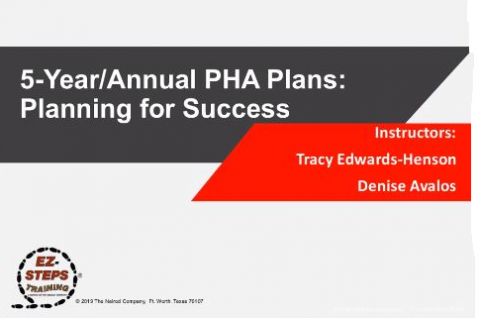 5-Year and Annual PHA Plans (catalog)