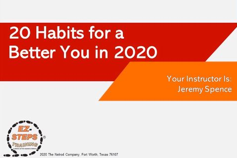 20 Habits for a Better You in 2020 (catalog)