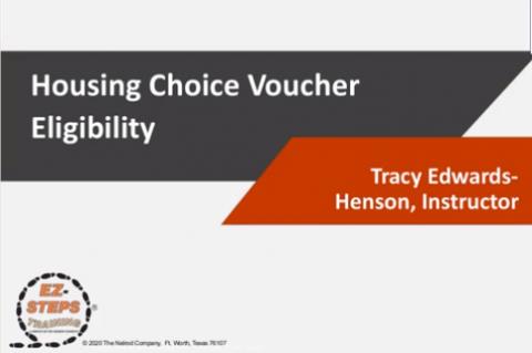 Section 8 HCVP Eligibility (catalog)