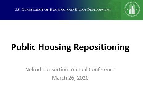 Public Housing Repositioning