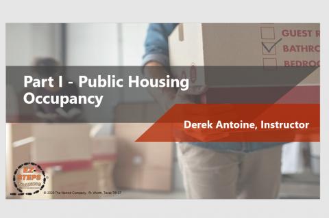 Public Housing Occupancy Day 1 (catalog)