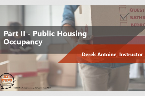 Public Housing Occupancy Day 2 (catalog)