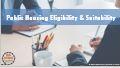 Public Housing Eligibility and Suitability (catalog)