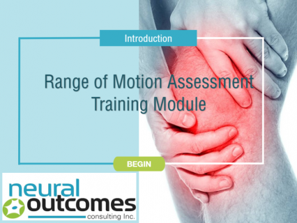 Range of Motion Assessment Training Module (Japanese)