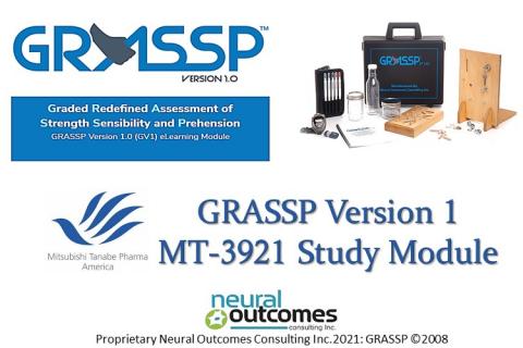GRASSP Version 1 MT-3921 Training and  e-Certification