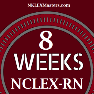 8 Weeks access NCLEX-RN Bootcamp, Diagnostic Exam, Readiness Exam, and QBANK