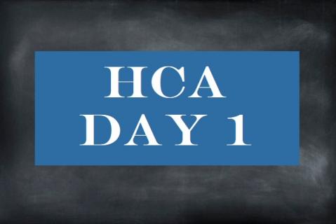 HCA Day 1 - Classroom