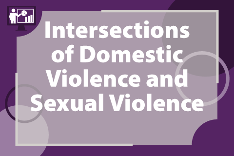 Intersections of Domestic Violence and Sexual Violence