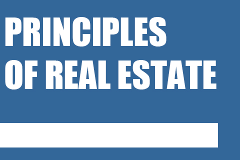 Principles of Real Estate (002347522)