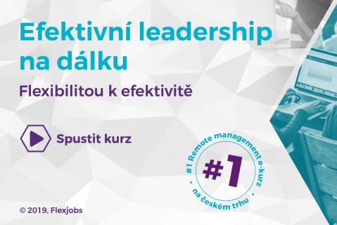 Efektivní leadership na dálku - ochutnávka