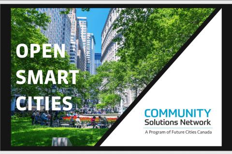 Fundamentals of Open Smart Cities (OSC100)